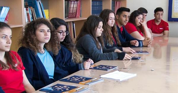 EMU-SCT Visits Famagusta Business High School